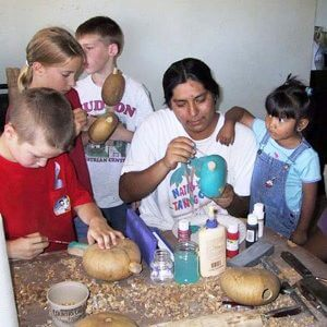 Rattle making with Hopi artist can be arranged on your Hopi Spirit Journey or Independent Travel Tour