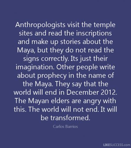 Carlos Barrios quote