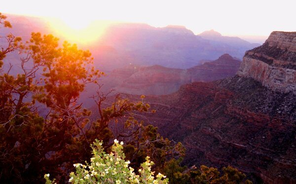 Grand Canyon sunrise; means in these wild places, you sense expanded horizons of who you are