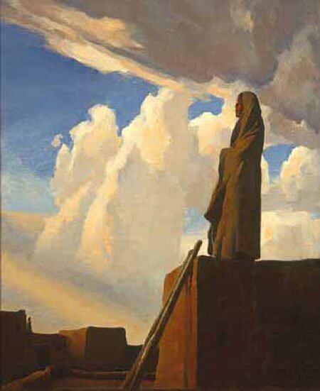 Maynard Dixon, early 20th century painter