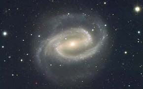 spiral galaxy image symbolizes the interconnectedness of life